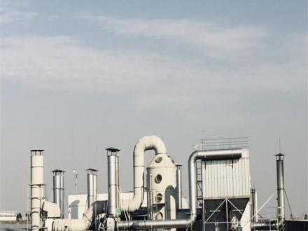 湿法脱硫喷淋塔+活性炭脱硫再生法